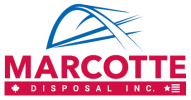 new marcotte logo red blue